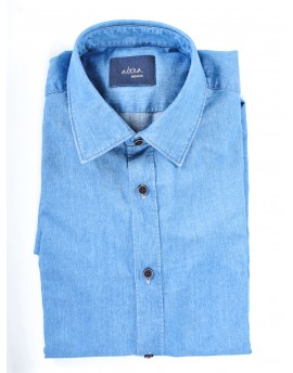 Camicia denim Uomo Altea