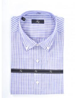 Camicia trama lino Uomo Fay
