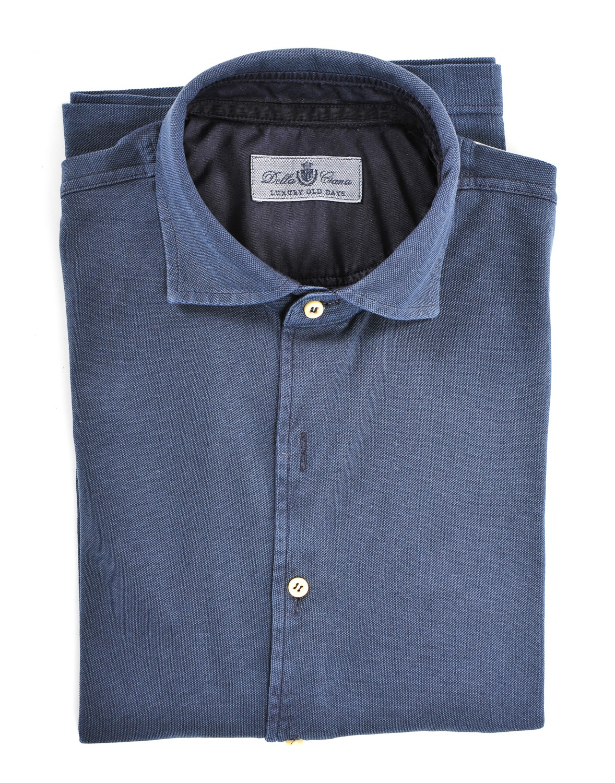 Camicia oxford lavato Uomo Della ciana 5b515c8acad
