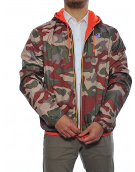 Jacques plus camo Uomo K way